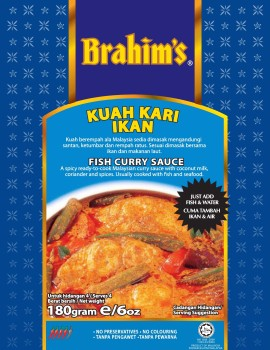 Fish Curry Base Sauce