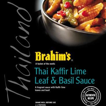 Thai Kaffir Lime Leaf & Basil Simmer Sauce