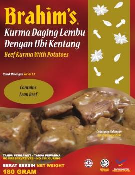 Beef Kurma with Potatoes Ready-to-Eat Meal