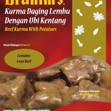 Beef Kurma with Potatoes Ready-to-Eat Meal