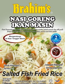 Salted Fish Fried Ready-to-Eat Rice