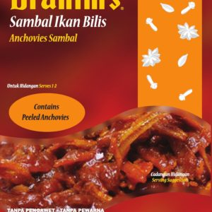 Anchovies Sambal Ready-to-Eat Meal