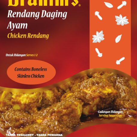Chicken Rendang Front
