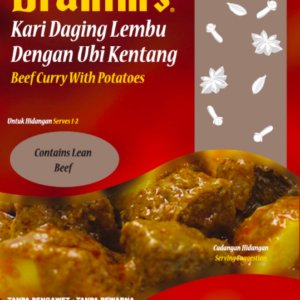 Beef Curry with Potatoes Ready-to-Eat Meal