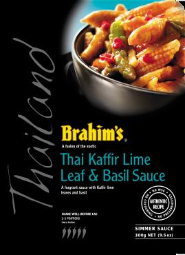 Thai Kaffir Lime Leaf & Basil Sauce