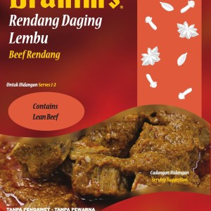 Beef Rendang Ready-to-Eat Meal