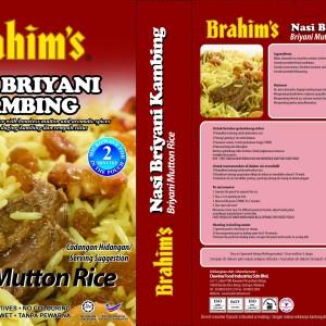 Briyani Mutton Ready-to-Eat Rice