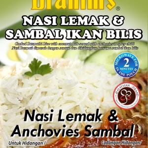 Nasi Lemak & Anchovies Sambal Ready-to-Eat Rice